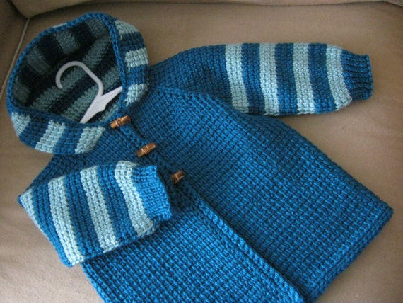 Tunisian Crochet Baby Sweater Free Pattern: Images about crochet ...