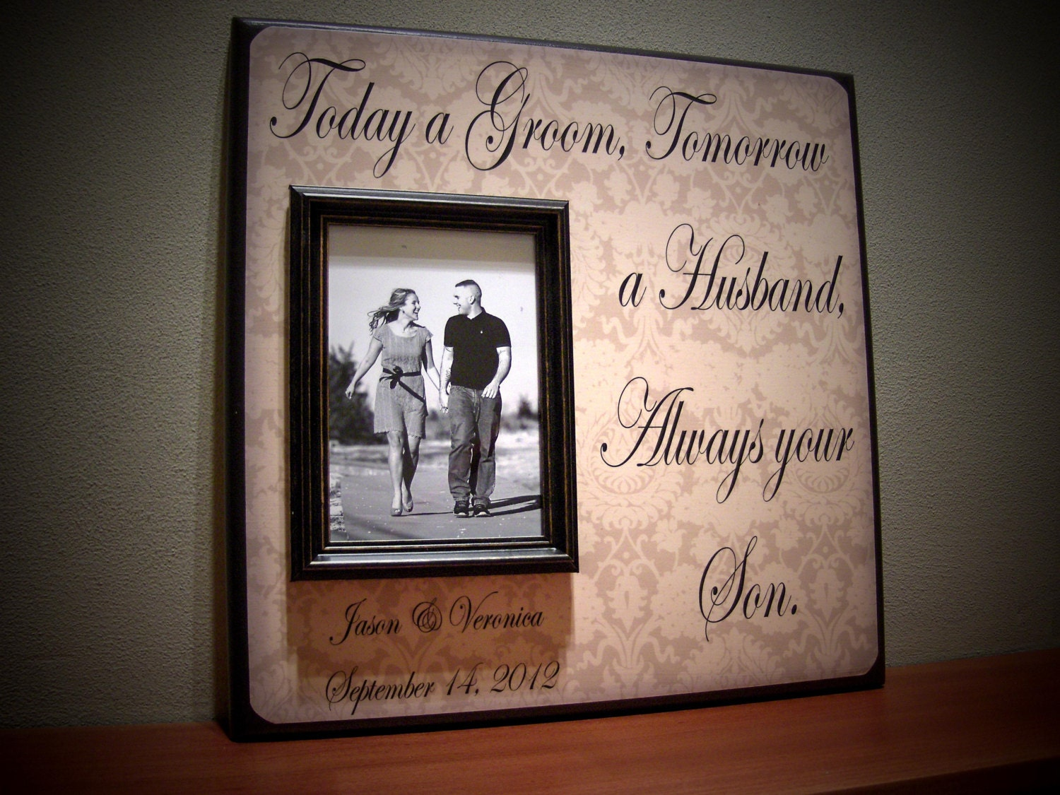 Wedding Gifts For Parents Of The Groom : Mother of the Groom Gift Parents of the Groom by YourPictureStory