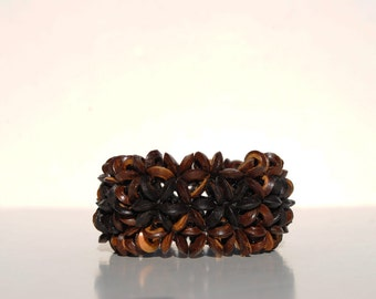 Dark Brown Stretch Bracelet