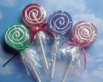 Choose One Candy Land Inspired Fake Lollipop Photo Prop, Fun Birthday Party Decorations, Fake Candy Displays and Decor