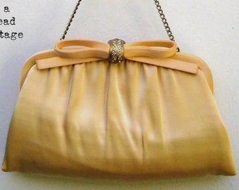 Vintage 60's After Five Buttercup Evening Bag