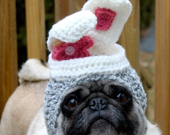 Hip Hop Sock Bunny Dog Hat / Cat Hat /  Made To Order