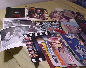 Star Wars LucasFilm Fan Club  Lot 54 Vintage Items