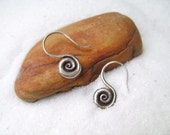Silver Earrings - The Spiral of Life (1)