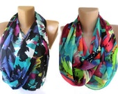 infinity scarves ,TWO , eternity loop circle scarf Summer fashion women accessories wholesale scarves