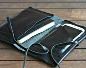 Moleskine cover leather - husband gift -Leather cover journal - Moleskine cover - boyfriend gift - traveller Leather case