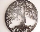 80 cm Tree Of Life, Framed, Custom Order reserved for Gwen