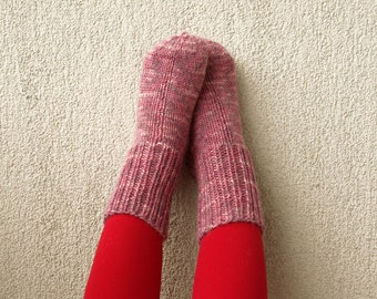 SALE Knit socks Wool socks Children socks Toddler  Hand knitted Children socks baby leg warmers