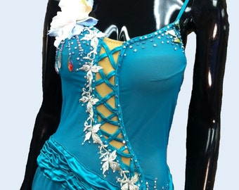Emerald Figure Skating Costume