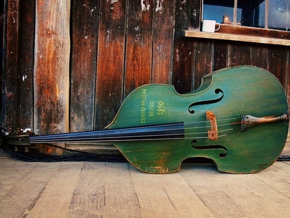Items similar to double bass fine art photography for Classic house bass