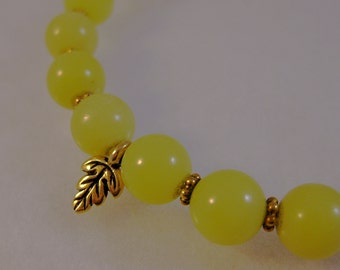 Olive new jade and vermeil bracelet: charity donation