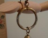 70s Pearl Hoop Earrings