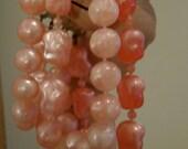 Bubble Gum Pink Beaded Bracelet