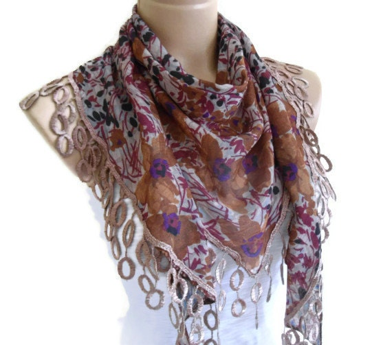 necklace scarves traditional turkish style by likeknitting