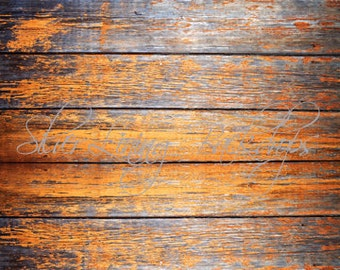 3ft x 4ft  VINYL Photography Backdrop Travel Floor - Harvest Barnwood