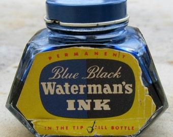 Old INK! Cobalt Blue Waterman's Ink