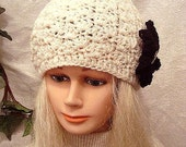 Instant Download PDF Crochet Pattern Shell Stitch Hat, Age 5 to Adult  SPP-104 OK to sell finished hats.