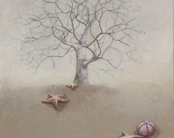 "Original painting  ""Afternoon"""