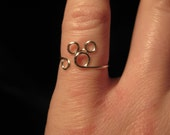Wire Wrapped Small Mickey Mouse MADE to ORDER Ring