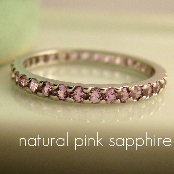 Yellow Gold Ring Paired With Pink Sapphire