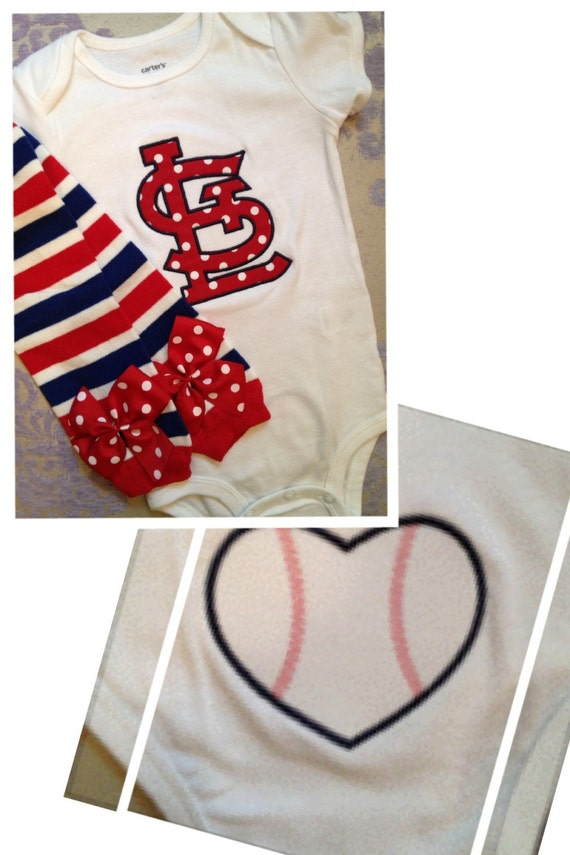 Items Similar To St Louis Cardinals Outfit For Baby Boy Or