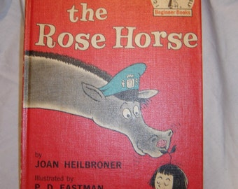Robert the Rose Horse Joan Heilbroner and P D Eastman childrens book vintage old book hardback 1962 collectible book club edition