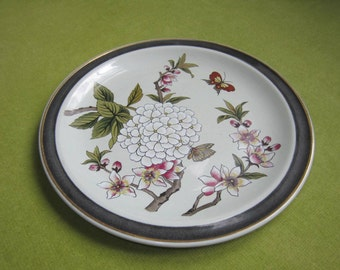 Hand-painted Chinese Garden Sheffield Plate