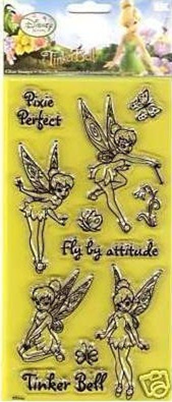Disney's Tinker Bell Clear Stamp Set