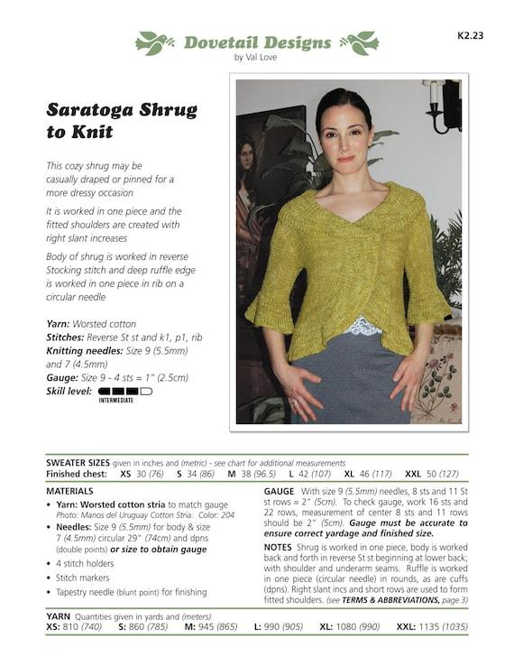 r studio knit to pdf