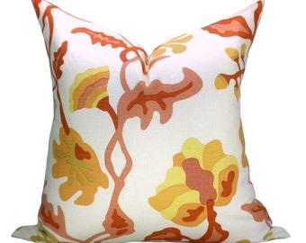 Alan Campbell Potalla pillow cover in Salmon