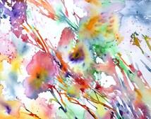 Watercolor Flowers, Gardens, Flower Paintings