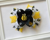 Bumble Bee Boutique Hair Bow