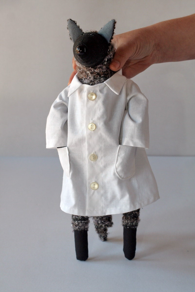 Dr. Wolf, stuffed animal toy for children