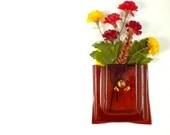 Sunset Coral  Magnet Vase LI 305