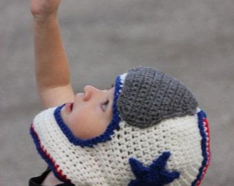 Astronaut/Race/Football Helmet - PDF Crochet Pattern - Instant Download