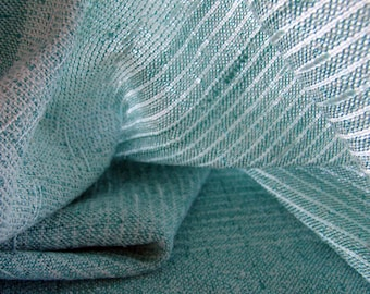 Wedding Shrug Bridal Wrap Bridesmaids' Shawl Hand woven Shawl - Mint Ice - pastel green