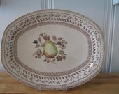 A Vintage Johnson Brothers Staffordshire Platter - PRICE REDUCED
