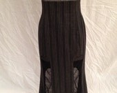 Vintage early 90s Karl Lagerfeld high waisted maxi skirt