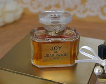 Authentic Vintage Perfume JOY PARFUM - Pure Perfume .25 ml Decant Sample to Try it - Jean PATOU Original French Civet and Rose Perfume