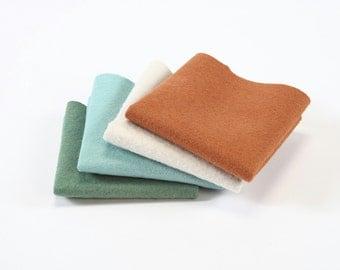 Charlotte Fox felt bundle, wool felt collection, hand sewing, craft felt, wool craft felt, craft supplies