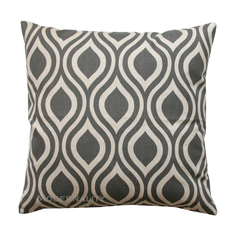 Decorative Throw Pillows Clearance : CLEARANCE Decorative Throw Pillow Taupe Pillow Kelp Nicole