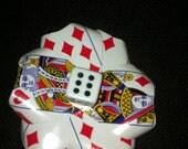 Poker Card Hair Pin