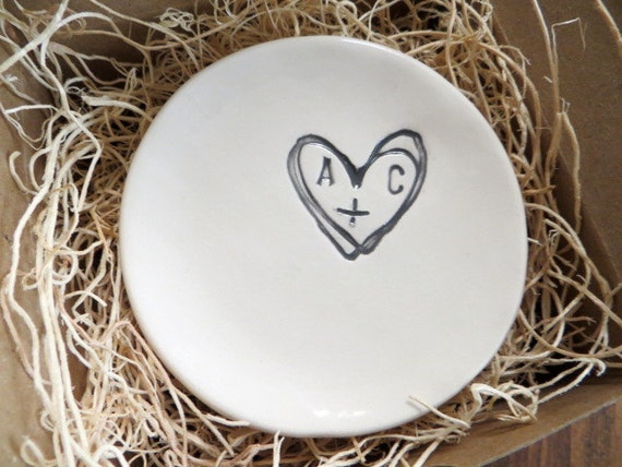 wedding ring dish ring holder engagement you by promisepottery