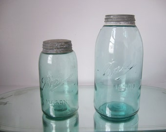Antique Ball Mason Jars  3 Loop L logo