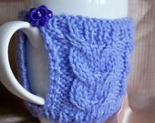 Hand knitted mug hug or cup cosy cozy warmer