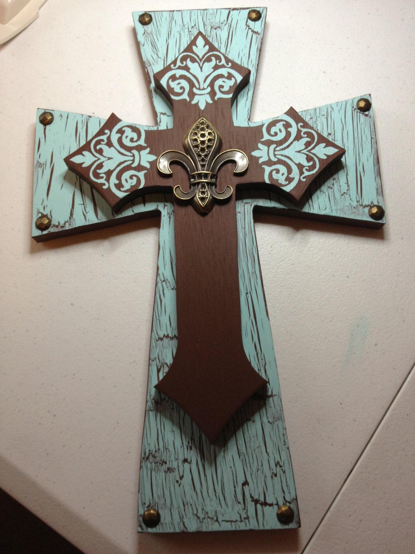 decorative stacked cross. Black Bedroom Furniture Sets. Home Design Ideas