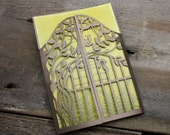 Tree Gate Lasercut