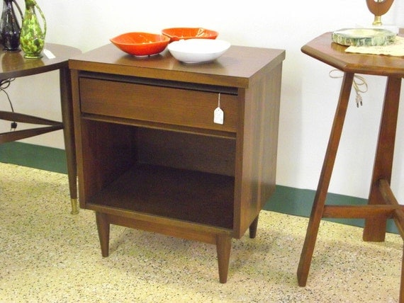 Mid Century Modern Night Stand Side Table