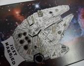 Star Wars Wedding Card