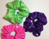 Solid Mystique Hair scrunchie - available in a veriety of colors and patterns